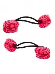 2 rode hersenen elastieken