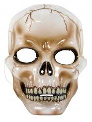Schedel half masker voor volwassenen