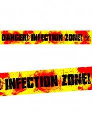 Zombie waarschuwing banner