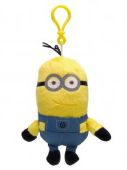Gele en blauwe Minions™ Kevin sleutelhanger