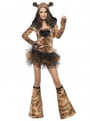 Sexy tutu tijger kostuum voor vrouwen