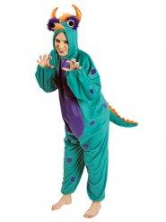 Blauw groen monster kostuum voor volwassenen