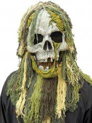 Moeras zombie masker voor volwassenen