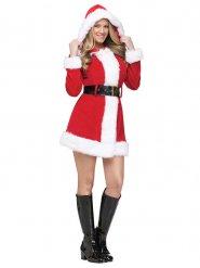 Sexy kerstvrouw outfit voor vrouwen