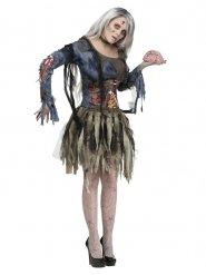 Zombie jurk kostuum voor vrouwen