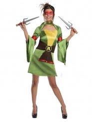 Schildpadden ninja kostuum voor vrouwen