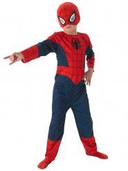 Blauw en rood klassiek Spiderman™ kostuum voor kinderen