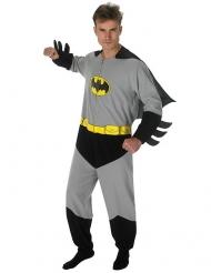 Grijs en zwart klassiek Batman™ kostuum voor volwassenen