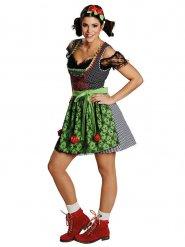 Traditionele Dirndl outfit voor vrouwen