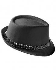 Zwarte punk hoed voor volwassenen