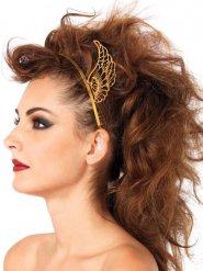 Goudkleurige vleugels haarband voor vrouwen