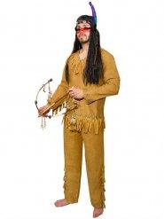 Indiaan kostuum met franjes voor mannen