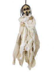Wit dood skelet decoratie