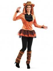 Wilde tijger kostuum voor vrouwen