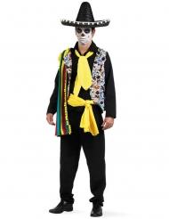 Mexicaanse Dia de los Muertos outfit voor heren