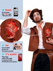 Zombie cowboy kostuum voor volwassenen