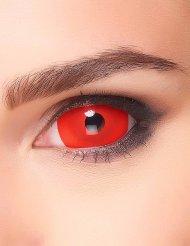 Rode grote contactlenzen voor volwassenen