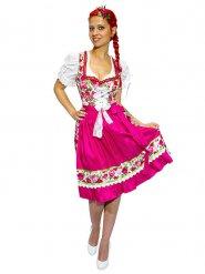 Bloemen Beiers kostuum voor vrouwen