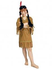 Bruin indiaan kostuum voor meisjes