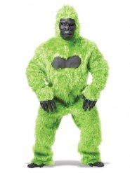 Groen gorilla kostuum voor volwassenen