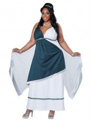 Romeinse godin kostuum voor vrouwen - Plus Size