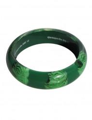 Groene zombie hersenen armband voor volwassenen