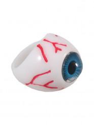 Blauw oog ring voor volwassenen