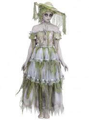 19e eeuw zombie kostuum voor vrouwen