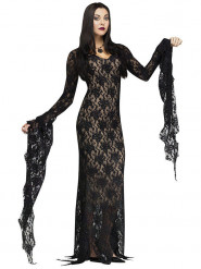 Duistere vampier gravin outfit voor dames