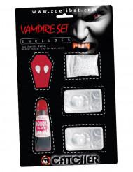 Vampier accessoire set met lenzen voor volwassenen