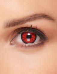 Rood monster contactlenzen voor volwassenen