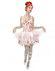 Zombie danseres kostuum voor vrouwen
