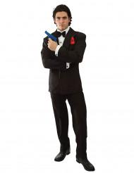 Klassiek geheim agent kostuum voor mannen