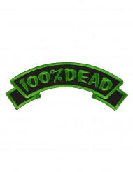 Groen en zwart 100% Dead patch