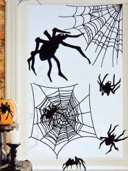 Set 24 spinnen stickers