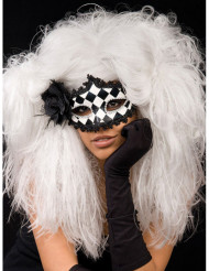 Witte warrige barok pruik voor vrouwen