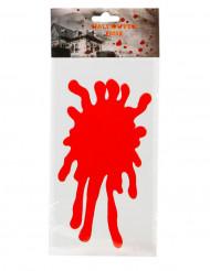 Bloedvlek raamsticker