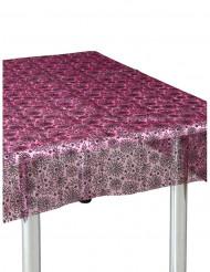 Zwarte en roze spinnenweb tafelkleed
