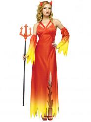 Elegant duivel kostuum voor vrouwen