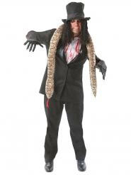 Zombie rocker kostuum voor volwassenen