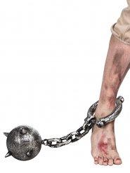Gevangene ketting met bal