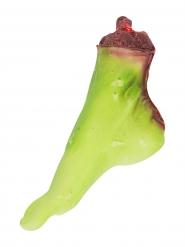 Afgerukte zombie voet