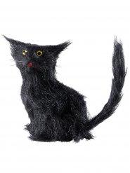 Zwarte kat decoratie