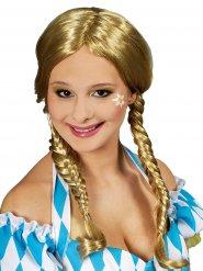 Blonde gevlochten pruik voor vrouwen