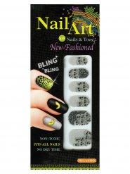 12 Halloween nagel stickers