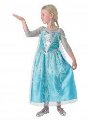 Premium Elsa Frozen™ kostuum voor meisjes