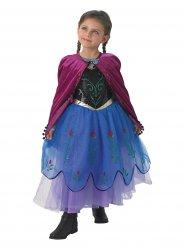Premium Anna Frozen™ kostuum voor meisjes