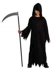 Zwart maaier kostuum voor kinderen