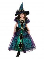 Kleurrijk heksen kostuum voor meisjes