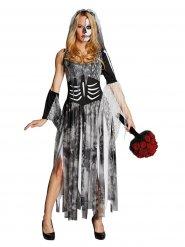 Skelet bruid kostuum voor vrouwen